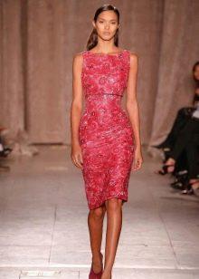 Вечернее платье от Zac Posen красное