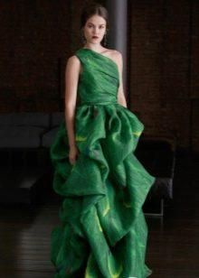 Вечерние платья от Naeem Khan зеленое