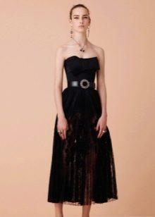 Вечернее платье от Alexander Mcqueen миди
