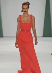 Вечернее платье от Carolina Herrera красное