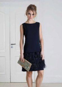 736ec7637e75320 Короткие вечерние платья: красивые модели, с рукавами и пышные (74 фото)