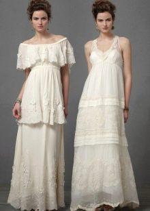 Кружевные свадебные платья в ретро стиле