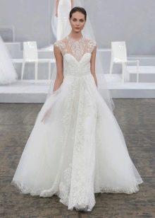 Свадебное пышное платье от Моник Люльер