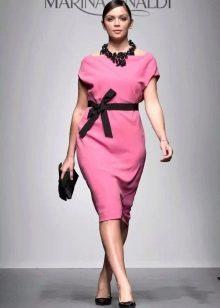 Вечернее платье нарядное для полных от Marina Rinaldi