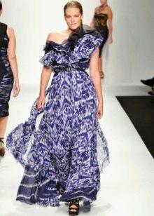 Легкое нарядное вечернее платье от Елена Миро