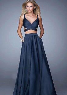 Вечернее платье с отдельным лифом