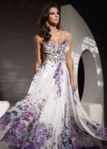 Вечернее платье недорогое из шифона