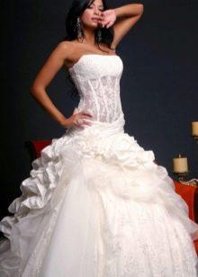 429059fcabb Свадебные платья с корсетом  лучшие фасоны и виды