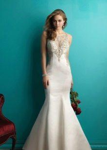 Платье свадебное русалка с корсетом