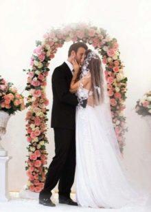 Анна Седокова свадебная церемония