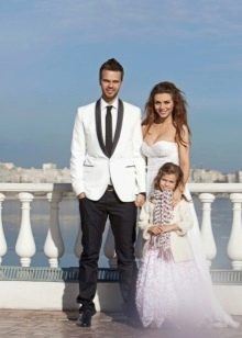 Анна Седакова свадебный наряд