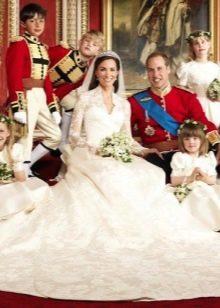 Свадебное платье Кейт Мидлтон со шлейфом