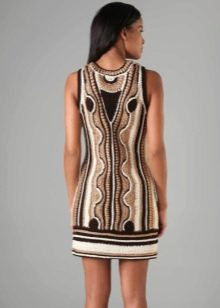 Вечернее платье от Milly спина