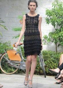 Вечернее платье от Vanessa Montoro короткое
