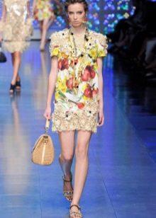 Вязаное платье вечернее от  Dolce & Gabbana короткое