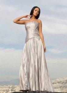 Вечернее платье с раздельным корсетом
