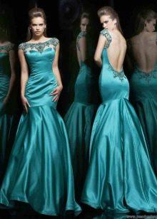 Платье с полностью открытой спиной от Шерри Хиллл