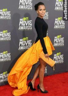 Вечернее асимметричное платье Керри Вашингтон