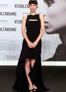 Вечернее асимметричное платье Руни Мара