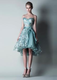 Вечернее платье короткое спереди длинное сзади от Саида Кобеси