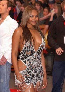 Вечернее платье Саманты Мамбы от Скота Хеншела