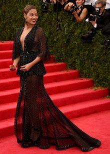 Вечернее платье Бейонсе от гивенши 2014