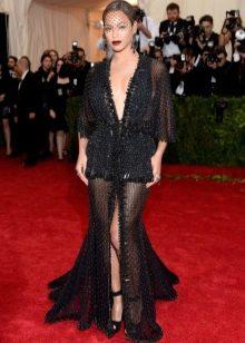 Вечернее платье Бейонсе от Гивенши 2014 откровенное