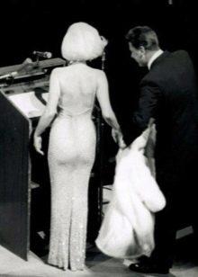 Платье Мерилин Монро со стразами