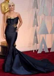 Вечернее платье русалка Риты Оры