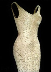 Вечернее платье Мэрилин Монро