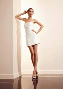 Свадебное платье мини от Амур Бридал