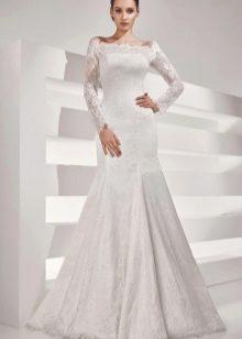 Свадебное платье с рукавами из коллекции Рекато