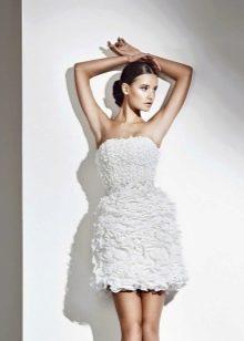 Короткое свадебное платье от Амур Бридал