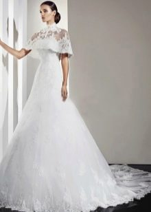 Свадебное платье с кружевом от Амур Бридал