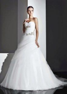 Свадебное платье с декором от Амур Бридал