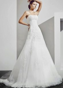 Свадебное платье а-силуэта из коллекции Рекато