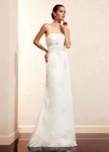 Прямое свадебное платье от Амур Бридал