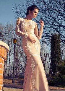Свадебное платье кружевное из коллекции Crystal Desing 2014