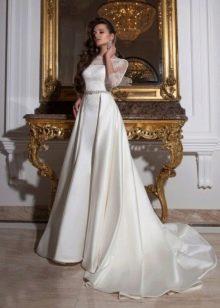 Свадебное платье-трансформер от Crystal Design