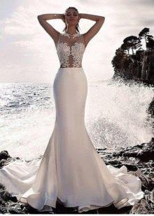 Свадебное платье русалка из коллекции Милано 2015