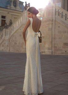 Прямое свадебное платье от Кристал дизайн