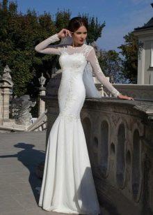 Свадебное платье русалка от Кристал Дизайн