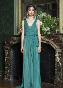 Греческое вечернее платье