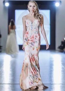 Летний вариант платья на свадьбу