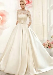 Свадебное платье с карманом от навиблю