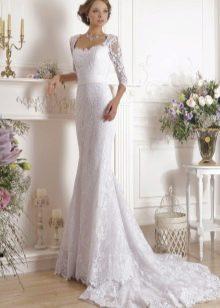 Свадебное платье кружевное из коллекции Idylly от Naviblue Bridal
