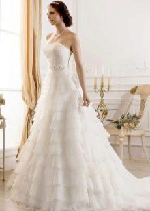 Свадебное платье а-силуэта из коллекции Idylly от Naviblue Bridal