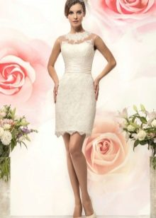 Свадебное платье короткое из коллекции BRILLIANCE от Naviblue Bridal