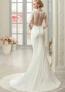 Свадебное платье русалка от Naviblue Bridal