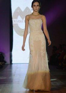 Вечернее платье прямое  из коллекции Privee 2014